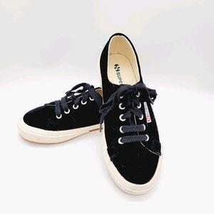 Superga size 36 velvet shoes